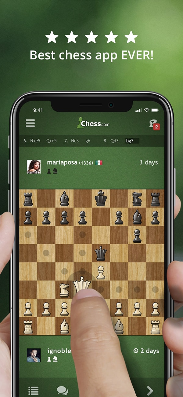 The Best Chess App For Ios Iphone Ipad Chess Com