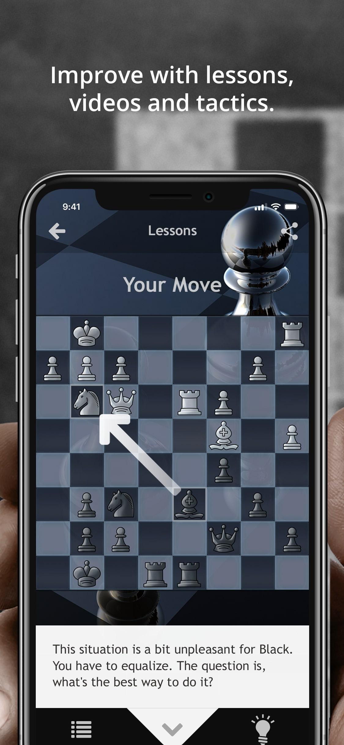 Die beste Schach-App für iOS / iPhone / iPad - Chess.com