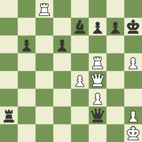 The Top Five Moves of Magnus Carlsen