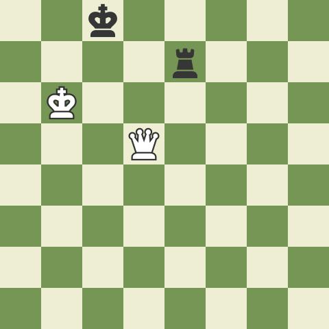 Winning Queen vs Rook 2: 2nd Rank Defense!