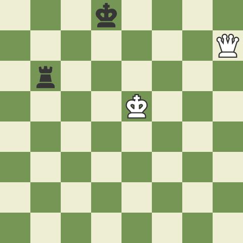 Winning Queen vs Rook 3: 3rd Rank Defense!