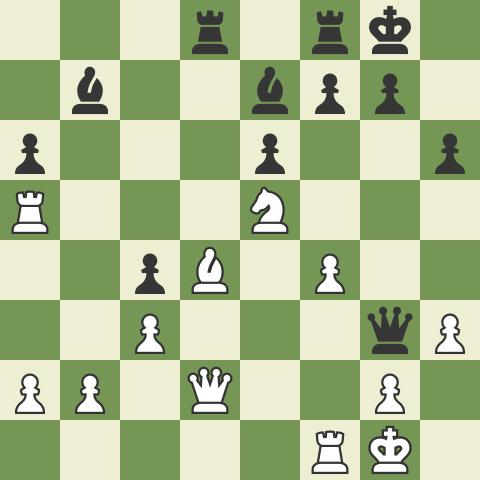 Spotting Tactics 5: Heavy Pieces Overloaded