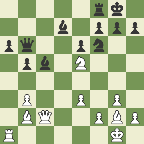 Active Queenside Play In The Catalan