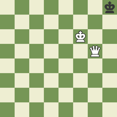 Checkmate with the Queen