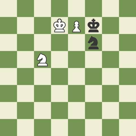 Knight and a Pawn Versus a Knight