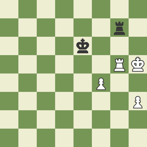 Typical Rook Endgame Mistakes 5: vs F & H Pawns!