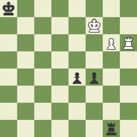 Rook and two pawns vs. Rook and pawn