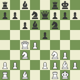 When to Trade Pieces 5: To Control Key Squares!