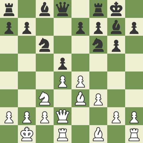 The Fighting Dragon - Part 3: 9. 0-0-0 with d5!