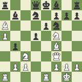 Beauty in Chess: Mikhalevski vs Finkel