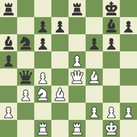 8...Nb6 Mieses Theory and Middlegame Tactics