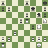 Master Game in the Caro Exchange: Rensch vs Krush