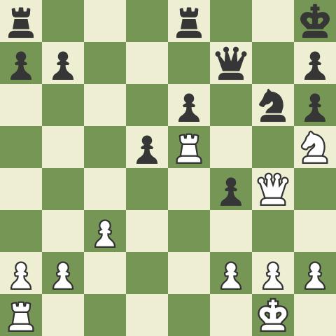 Master Game in the Caro Exchange: Rensch vs Krush