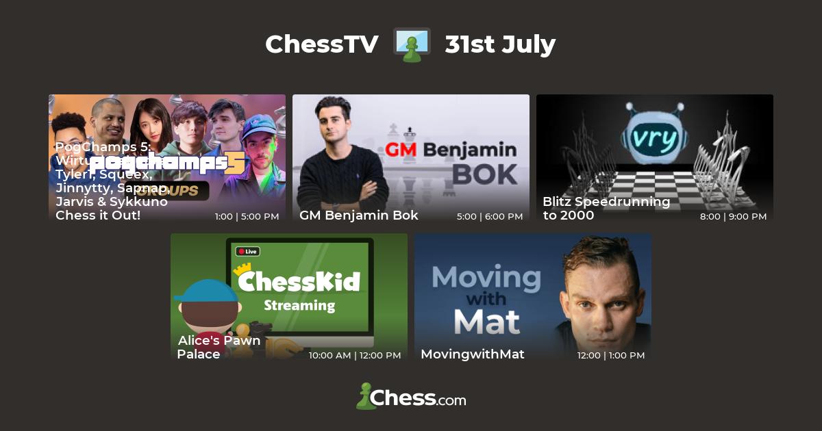 ChessTV - Live Streaming Chess Shows